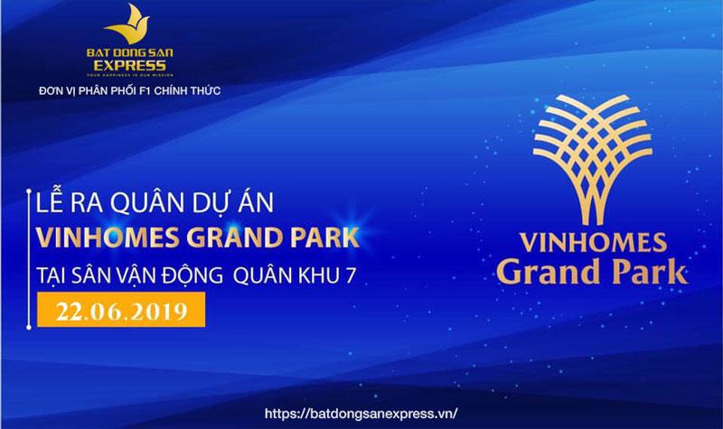 Bất Động Sản Express tham dự lễ ra quân dự án Vinhomes Grand Park