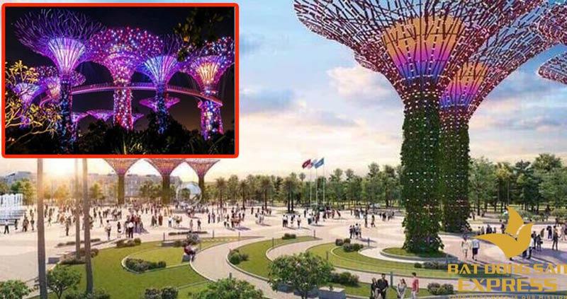 Công viên ánh sáng khai trương chính thức đón khách tham quan vào quý 3/2019
