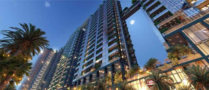 Phối cảnh các tòa tháp dự án cao cấp Sunshine Q10