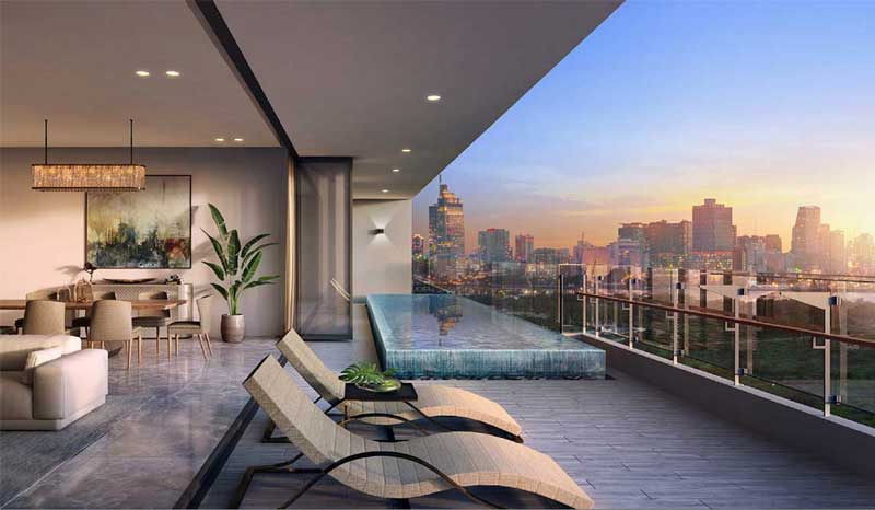 Căn hộ Sky Villa dự án The River Quận 2