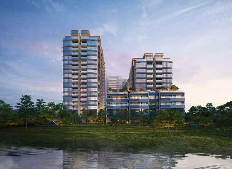 Phối khu căn hộ chung cư The River Thủ Thiêm sang trọng ven sông Sài Gòn